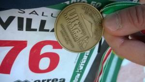 UltraK Marathon - Medaglia