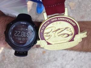 Medaglia Venice Marathon
