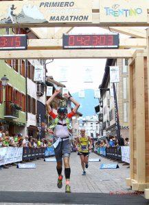 Primiero Dolomiti Marathon - Traguardo