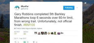 Barkley Marathon - DNF Gary