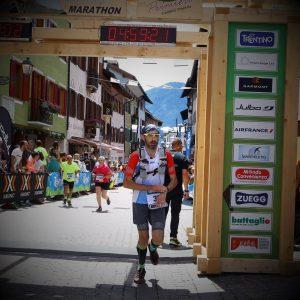 Primiero Dolomiti Marathon 2017: Traguardo