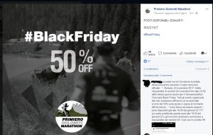 Primiero Dolomiti Marathon & Black Friday