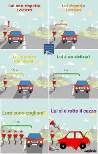 Sicurezza e rispetto del ciclismo