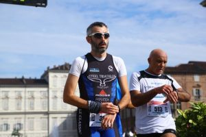 torino half marathon traguardo